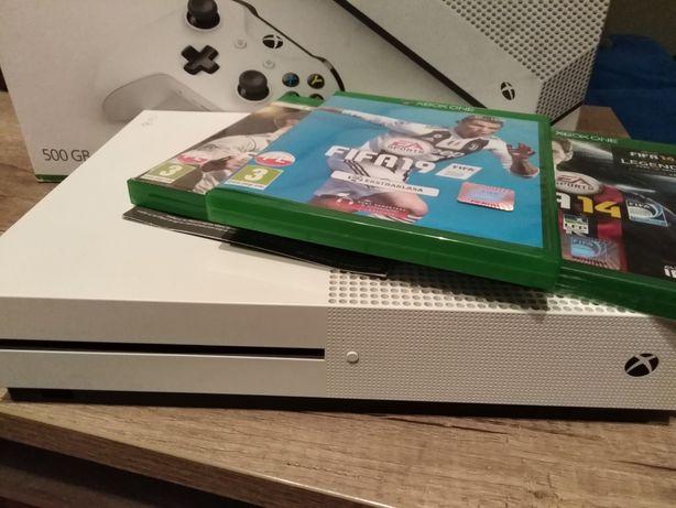 Xbox one 500G + gry