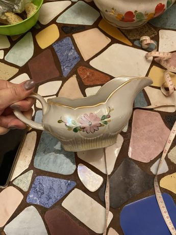 Соусник и чайник керамический СССР