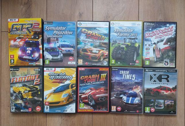 Zestaw gier na PC symulator farmy gry crash time gtr x rally