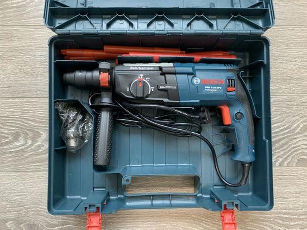 Перфоратор Bosch GBH 2-28 с доп. патроном гарантия год. ПОЛЬША
