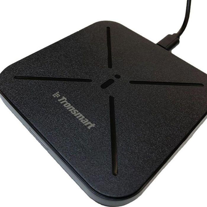 Бездротовий зарядний пристрій Tronsmart WC06 Wireless Charger Black (F Буча - изображение 1