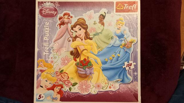 Puzzle Disney Księżniczki 2x50