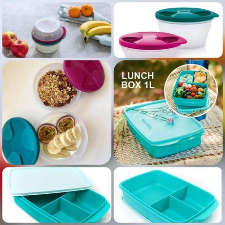 Snack com Divisórias 1l + Refrigeradoras Tupperware