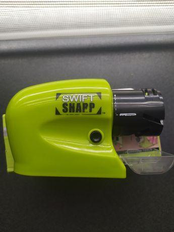 Универсальная электрическая точилка для ножей и ножниц Swifty Sharp S