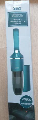Bezprzewodowy, akumulatorowy odkurzacz ręczny SEG Design nowy