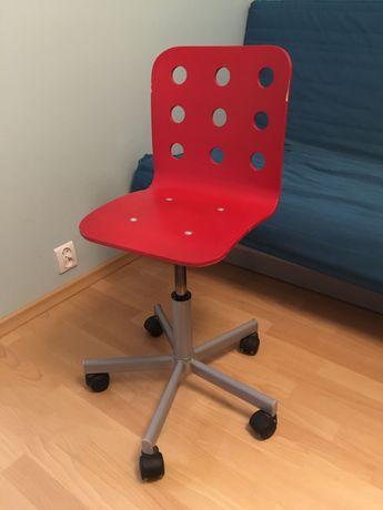 Krzesło obrotowe drewniane ikea