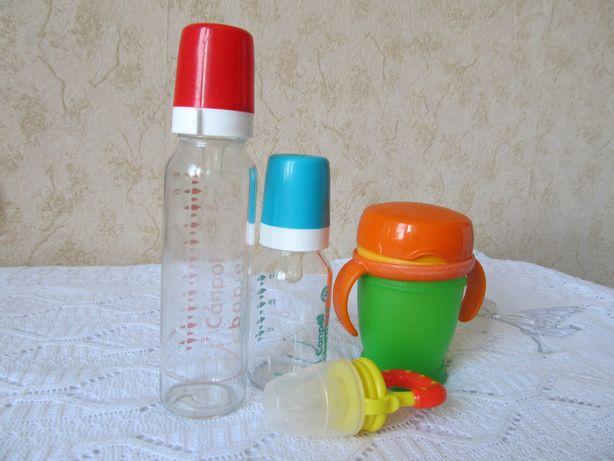 Ниблер силиконовый. Бутылочки 2 шт.