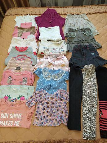 Пакет вещей на девочку 5 -6 лет р 110