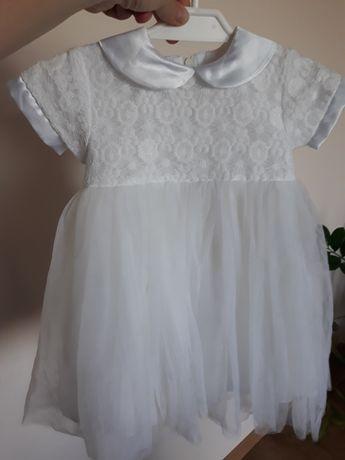 Sukieneczka / sukienka do chrztu.rozm 74