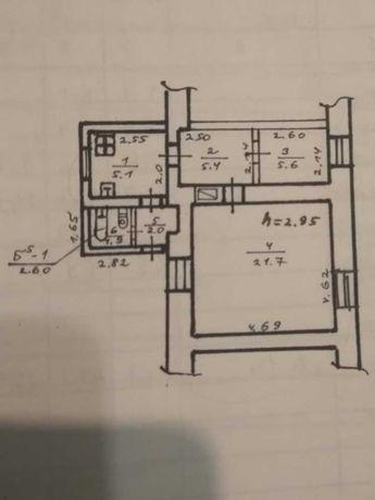 Продам 2к квартиру в Центре, Серова. Закрытый двор