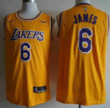Camisola NBA Lakers James 6