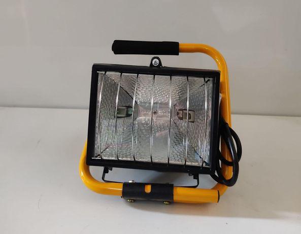 Projector halogéneo portátil 500w