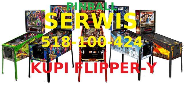Skup flipper-ów ,Pinball ,Serwis, Naprawa ,Komis