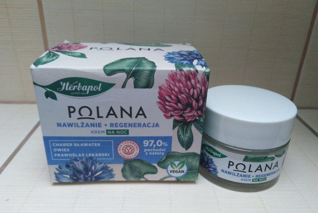 Herbapol Polana krem-żel na noc nawilżanie-wygładzanie 50 ml