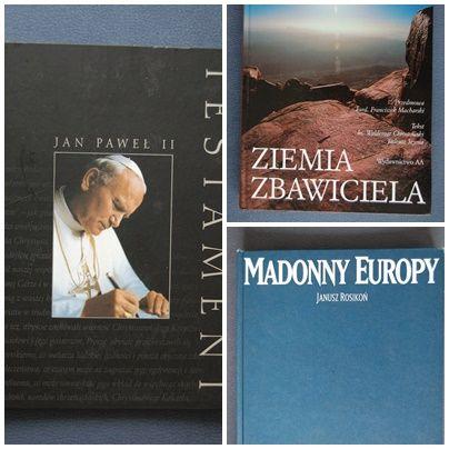 Jan Paweł II - testament + Ziemia Zbawiciela + Madonny Europy