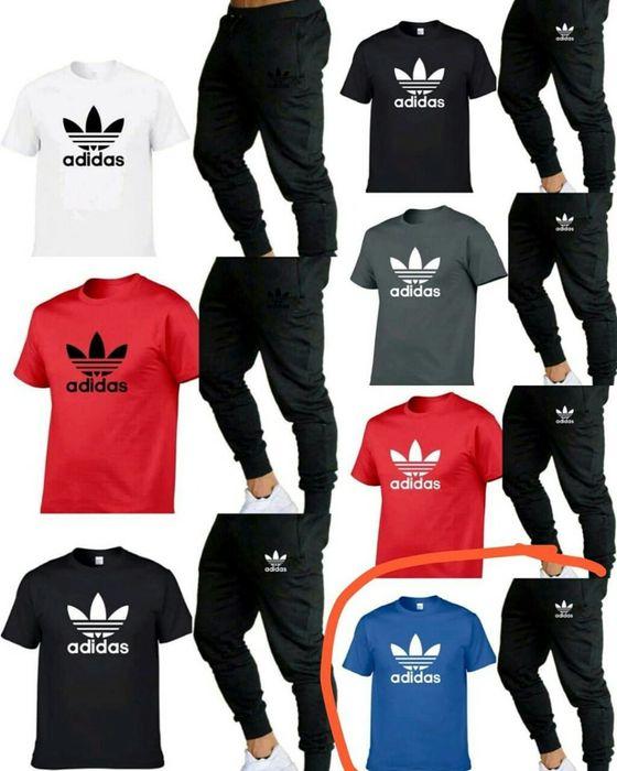 Komplety meskie z logo Adidas Nike Ck spodnie +koszulka M-XXL!!! Warszawa - image 1