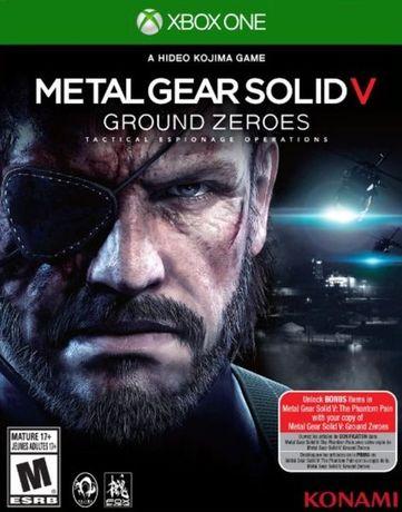Gra Metal Gear Solid V - Ground Zeroes XONE