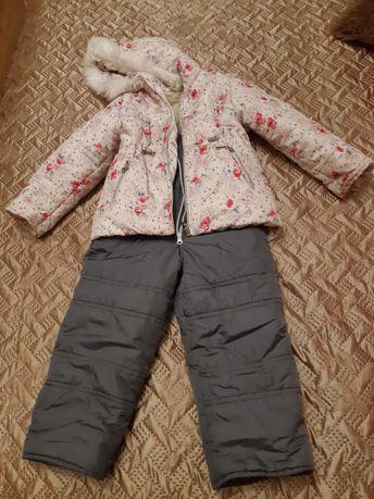 Зимний костюм, возраст 3-4 года
