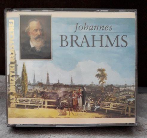Brahms - 3  plyty cd rozne utwory - nowe