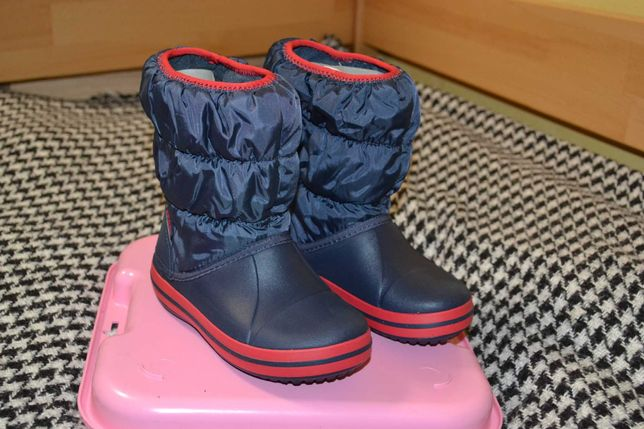 Сапоги Crocs Kids Winter Puff Boot 14613-485