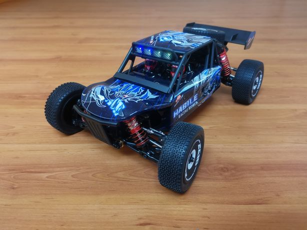 Carro RC Rally Desert XK Wltoys 124018 Li-po 4x4