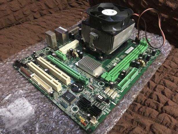 Материнская плата с AMD процессором