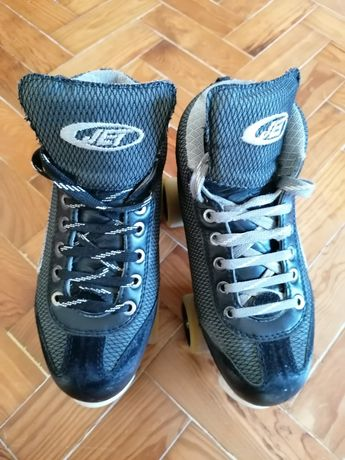 Botas/patim de hóquei em patins JET - 38 a 40