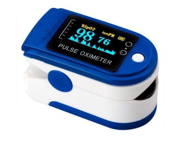 Пульсоксиметр измеряет пульс и кислород в крови TFT Pulseoximeter