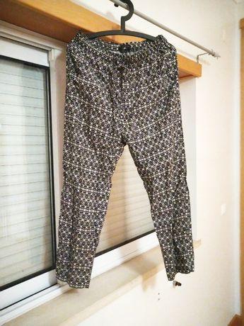 Calças Zara L, Novos. De verão, muito leves.
