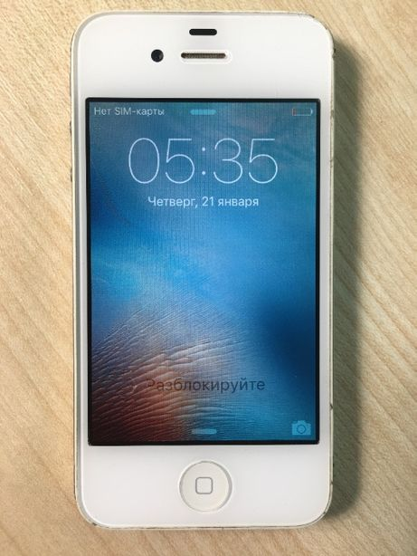 Смартфон iPhone 4S 16 Gb (99677) Уценка
