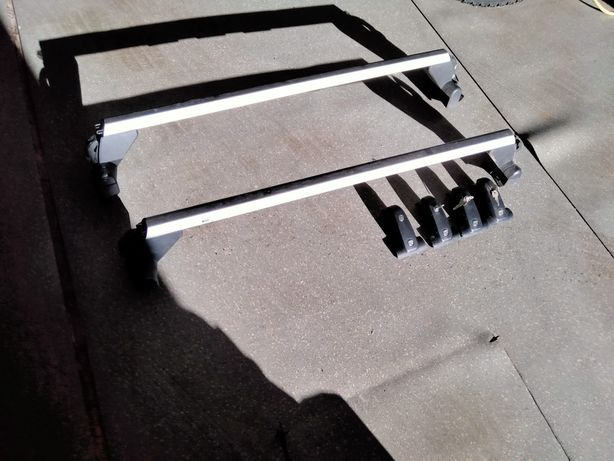 Conjunto barras e bagageira Audi