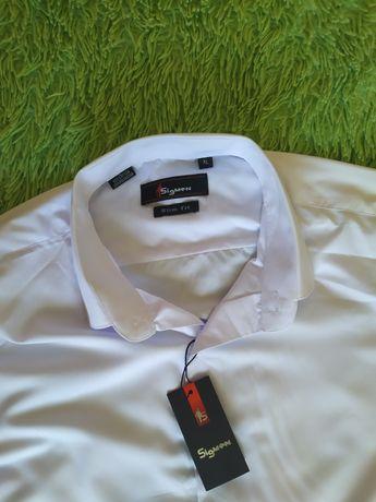 Мужская белая рубашка SIGMEN размер XL