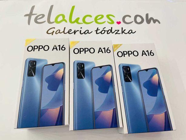 Oppo A16 3/32 GB Black Telakces.com Galeria Łódzka