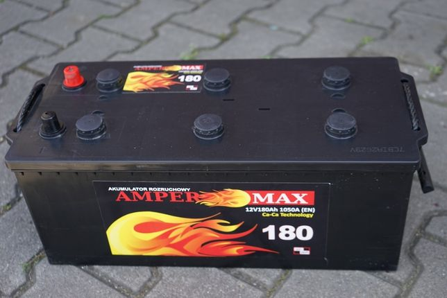 Akumulator do ciężarówki ciągnika siodłowego 180Ah 1050A 12V Nowy