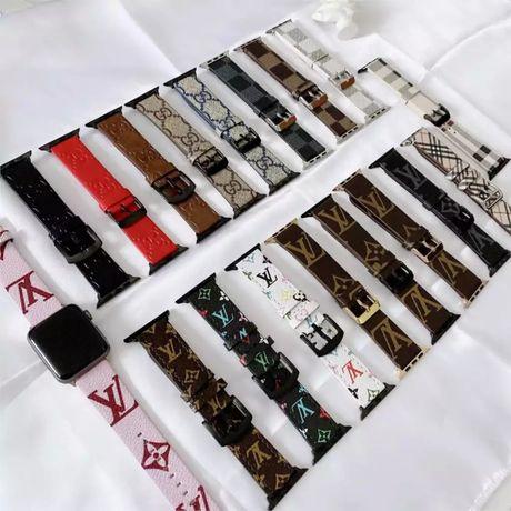 **Bracelete / Band em pele Louis Vuitton - Apple Watch**