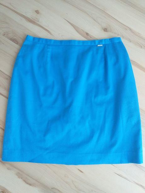 Spódnica, spódniczka Simple mini niebieska rozm.40 ( L )