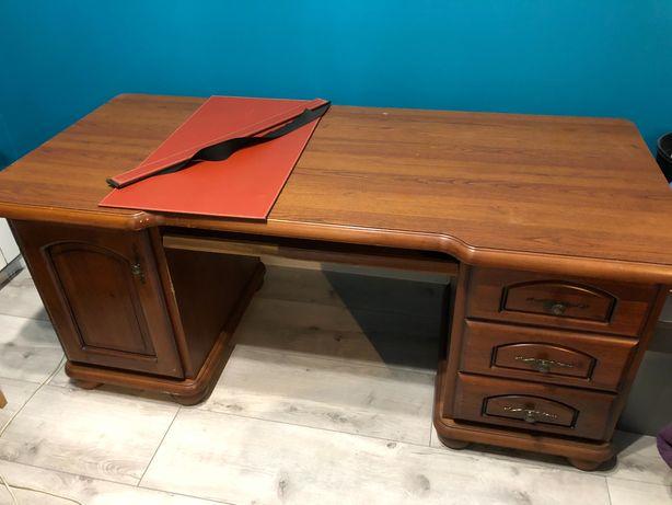 Sprzedam solidne drewniane biurko
