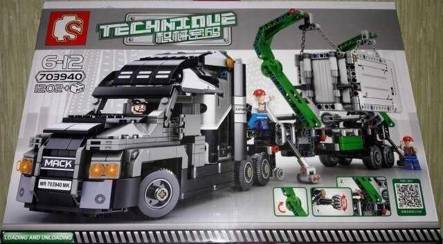 Конструктор  703940 Грузовик  MACK Anthem 1202 дет lego лего