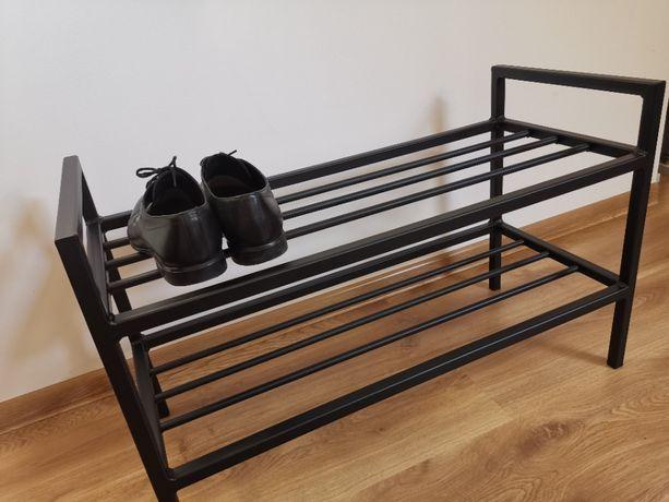 Metalowy regał na buty loft
