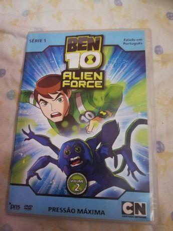 Dvd Ben 10 série de TV