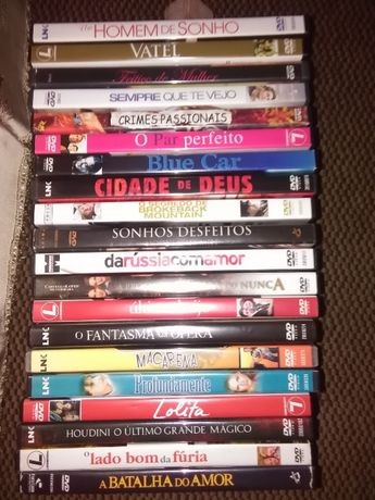 DVD's Filmes diversos