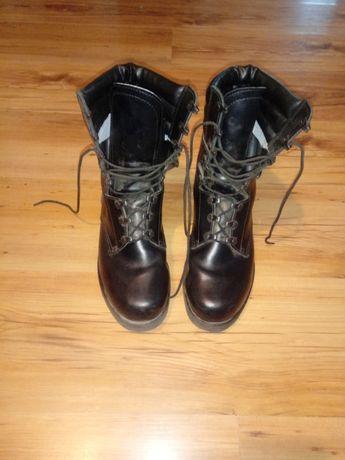 Buty wysokie dla pracownika ochrony