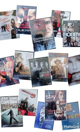 Vários DVDs de filmes