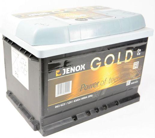 Akumulator Jenox Gold 63Ah 630A regenerowany 2 miesiące gwarancji