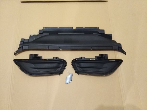 Накладка радиатора, дефлектор, заглушки Fusion 13-15