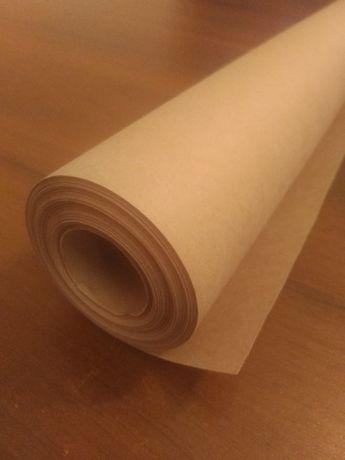 Крафт бумага коричневая упаковочная, 70 г/м2 1.02 м. х 50 м.