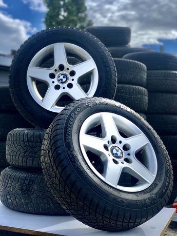 Диски БМВ Е39 ЕТ18 7x15H2 5x120 Резина BMW титаны 205/65 R15
