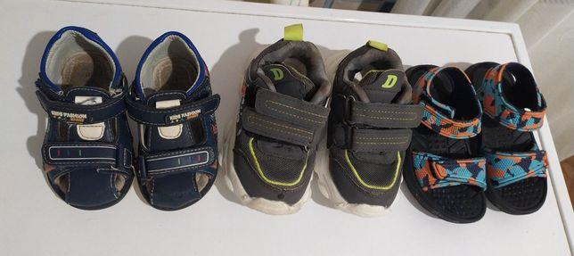 Кроссовки/Летние сандали/тапочки/лёгкие на мальчика