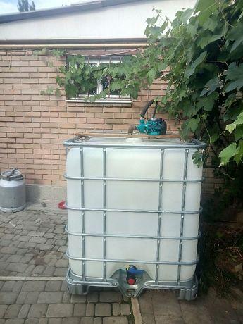 емкость для воды. еврокуб, бочка