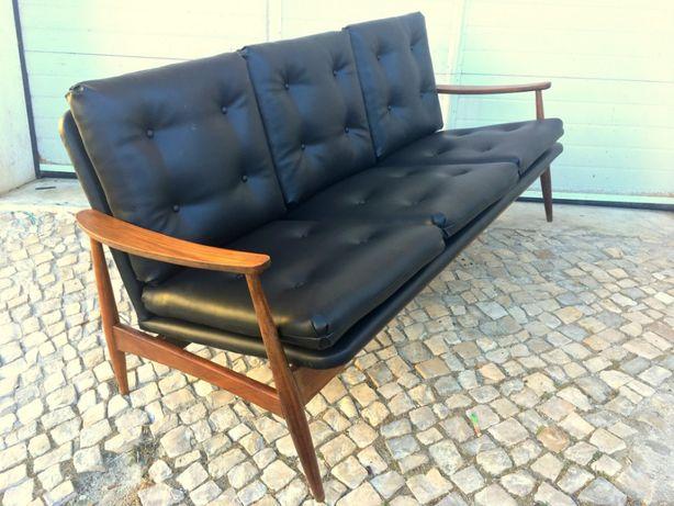 Cadeirao 3 lugares olaio vintage 170comp X 73prof X 76alt.